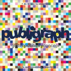 Publigraph -global publicity concept-